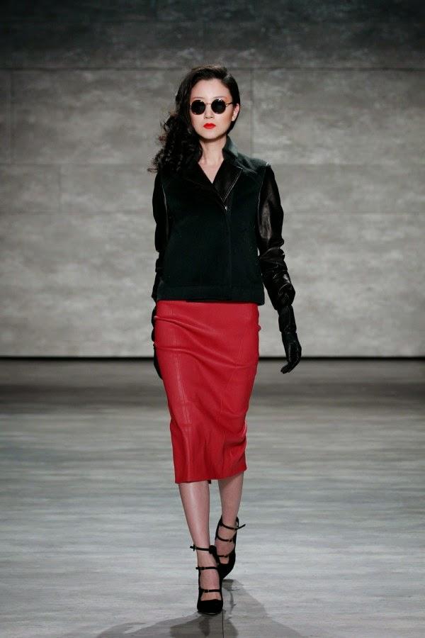 Leather Skirts For Autumn Winter 2015 red kirmizi bal%C4%B1k etek modasi hadise bilgilerburada 2015 Deri Etek Modelleri,mini deri etek kombinler,2015 deri modası bayan