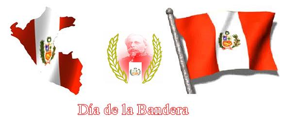 El 7 de Junio se celebra el Día de la Bandera en Perú , día que