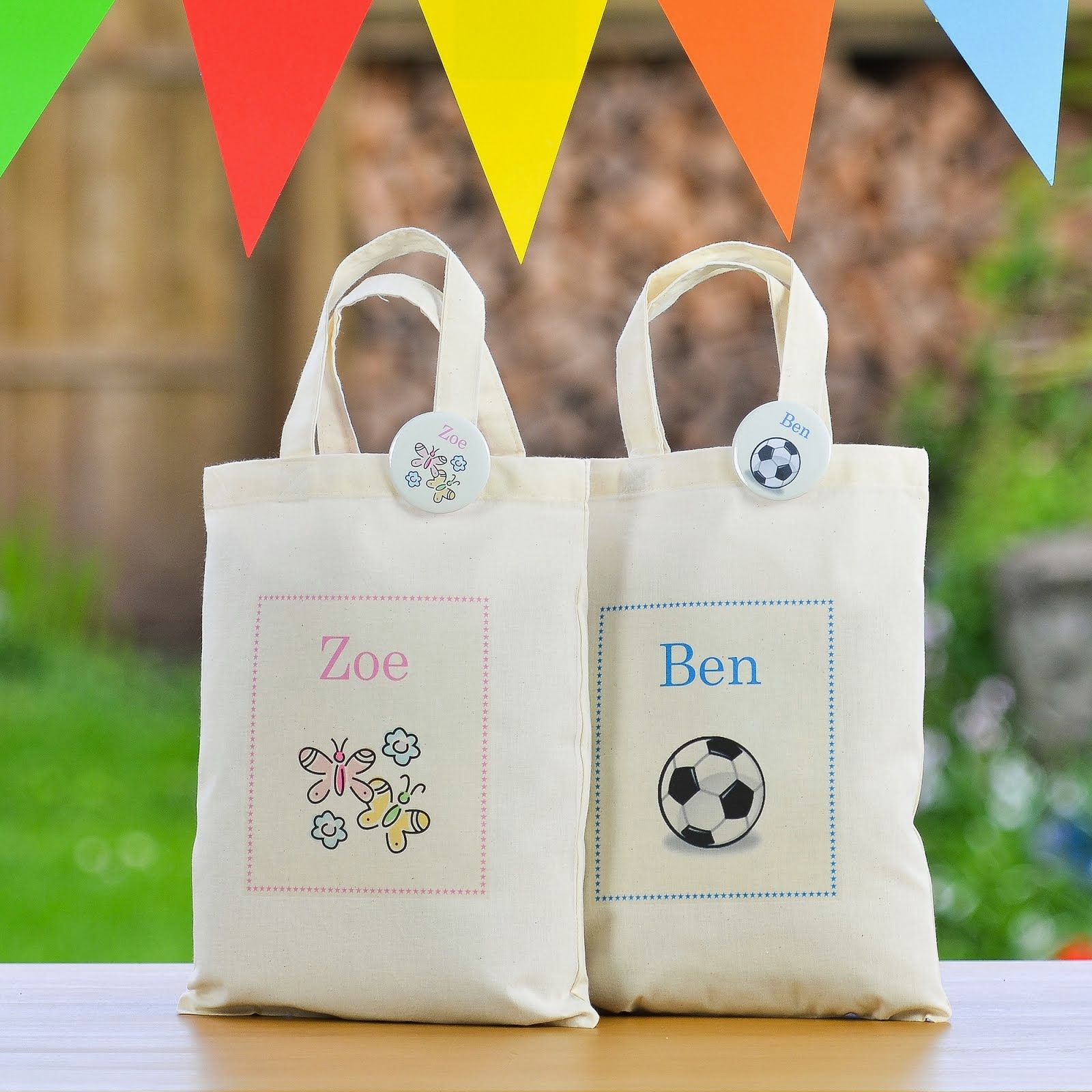 Personalised Children's Party Bag's