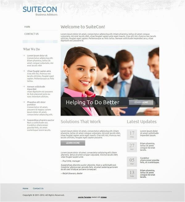 SuiteCon - Free Joomla ! Template