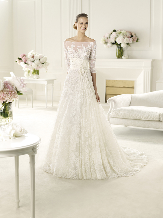 elie by elie saab 2013 bridal collection my dress of the week belle the magazine. Black Bedroom Furniture Sets. Home Design Ideas