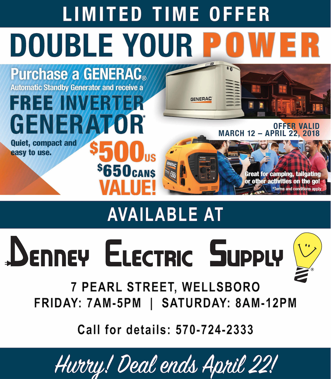 Denny Electric, Wellsboro, PA