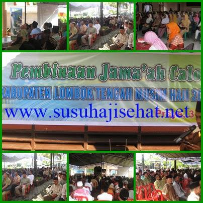 SUSU HAJI SEHAT di Kabupaten Lombok Tengah