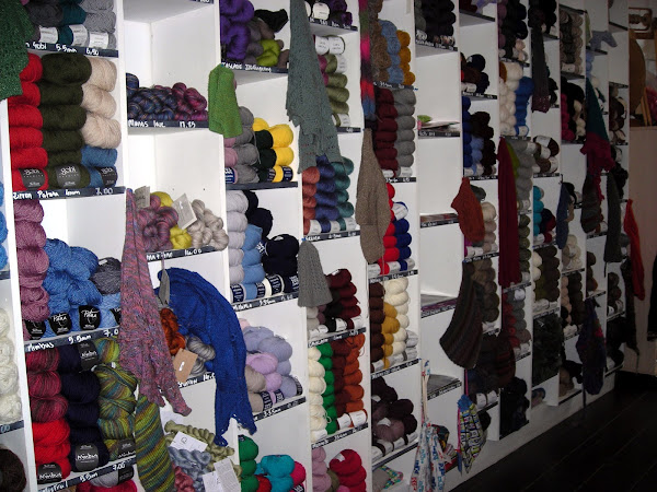 Woool yarn wall