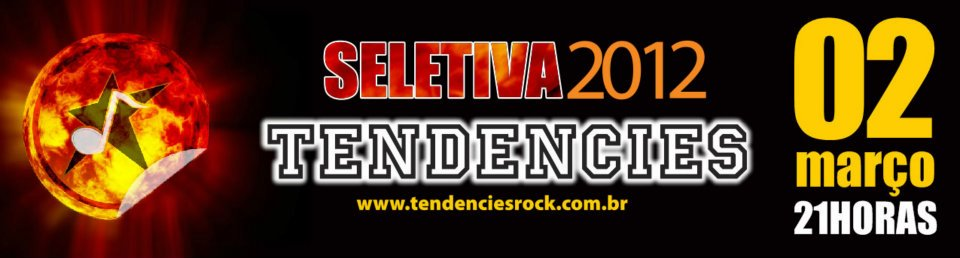 Seletiva Tendencies 2012 em Palmas-TO