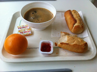 "My ""hotel"" breakfast during my hospital stay for preterm labor"
