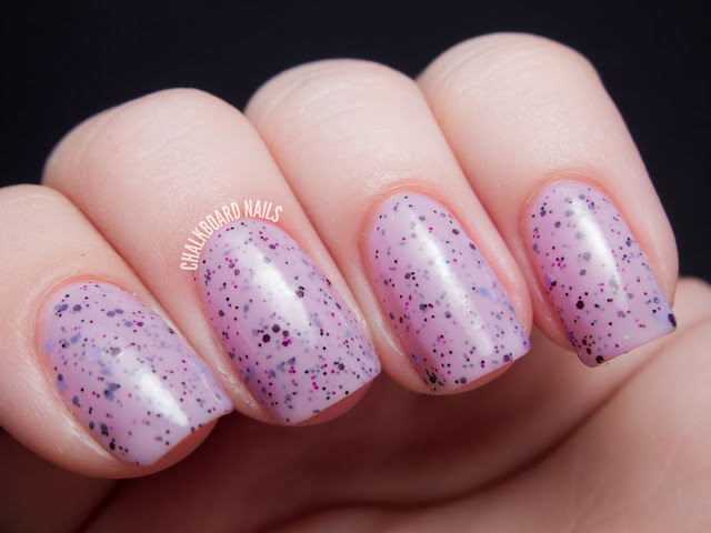 Chalkboard Nails: Vivid Lacquer Theoretical Blogger
