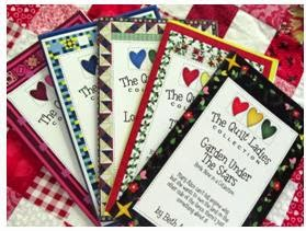 A Story and Quilt Pattern in Each book of The Quilt Ladies Book Collection