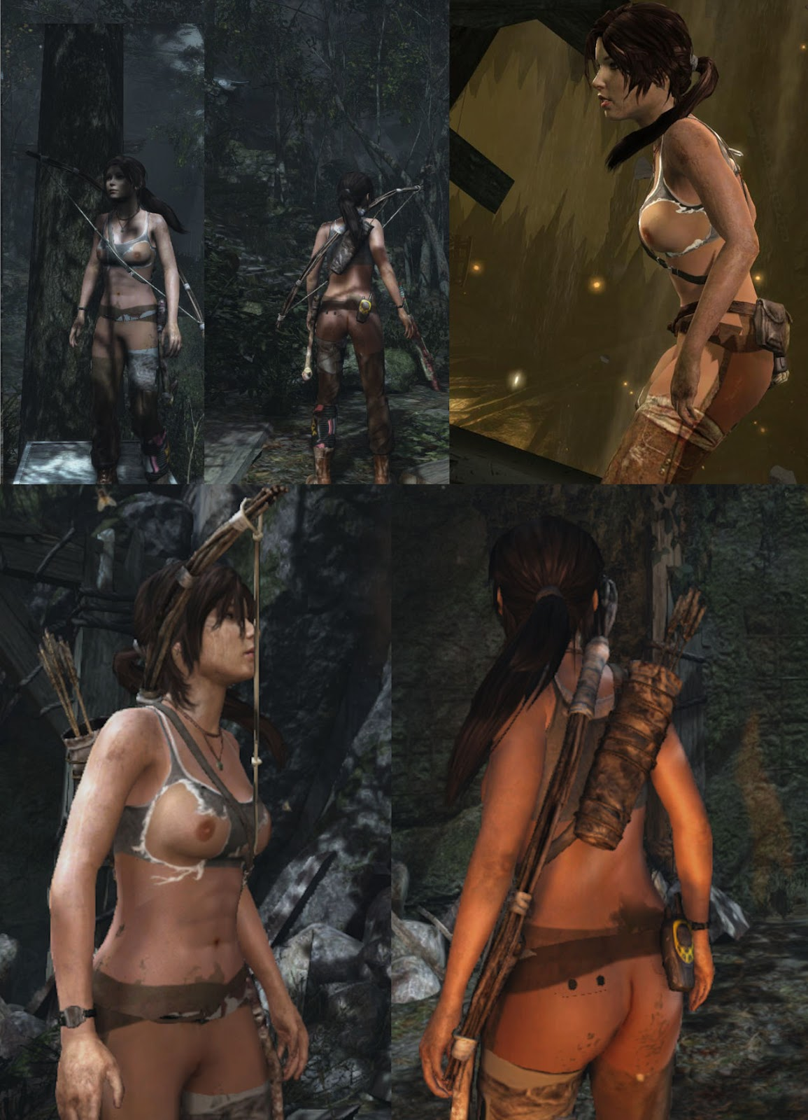 Mods and nude patch tomb raider erotic clip