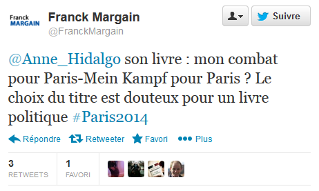 Franck Margain vs Anne Hidalgo
