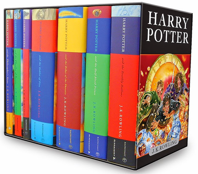 Harry Potter Book Unboxing : Professional daydreamer the book tag
