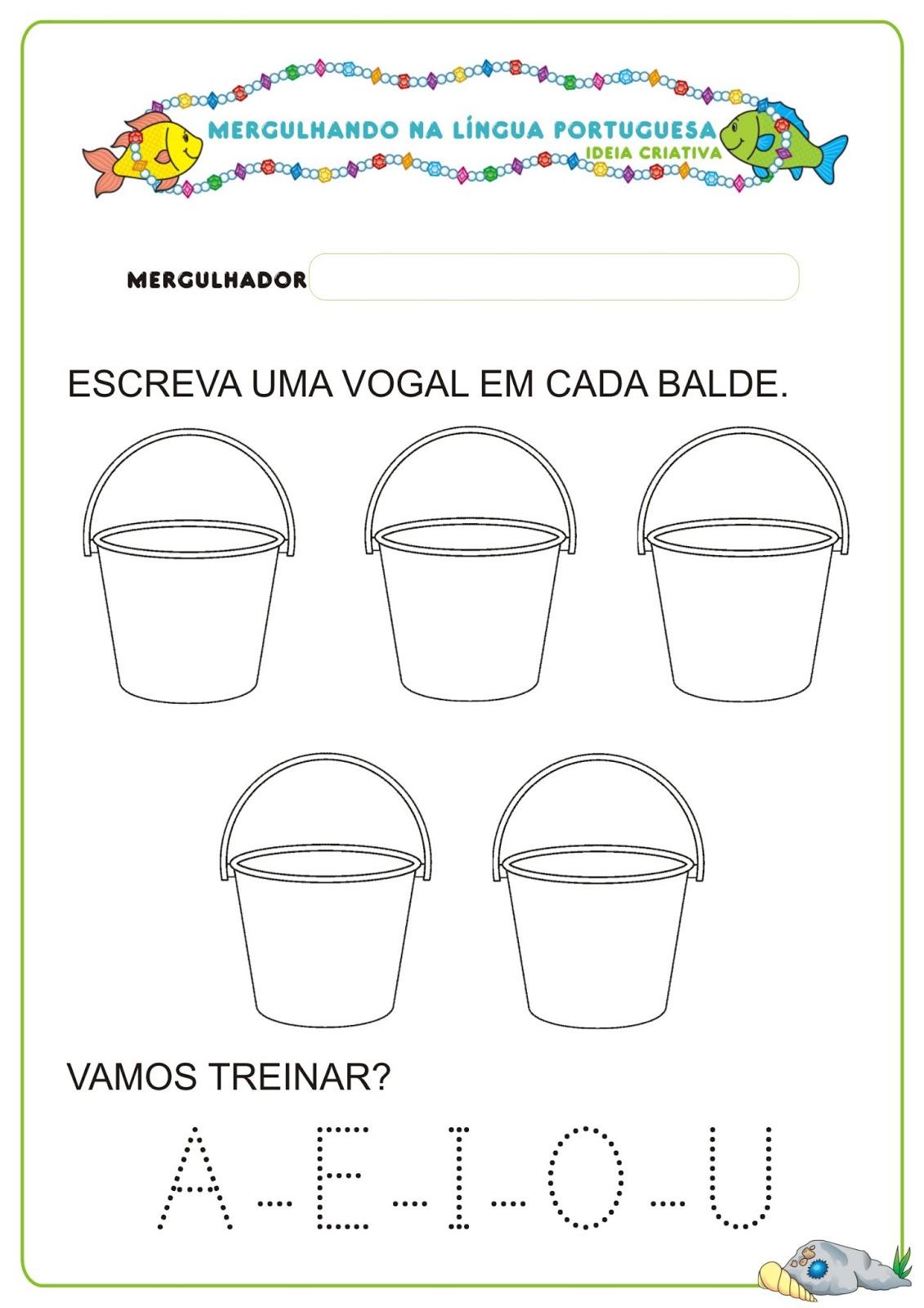 Preferência Caderno de Atividades Língua Portuguesa Projeto no Fundo do Mar  VO92