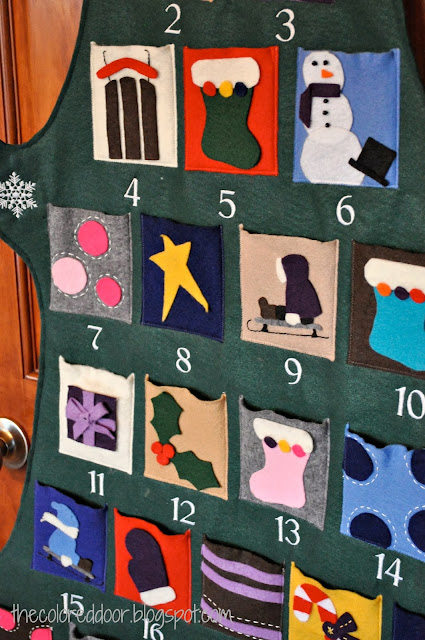Advent Calendar - the colored door