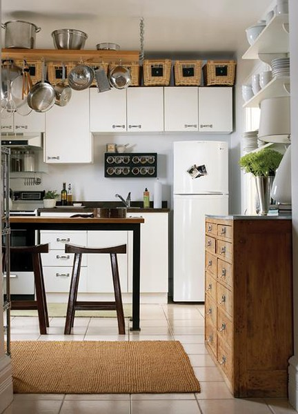 Kitchen Island Small Space beginner beans: kitchen island inspiration for small spaces