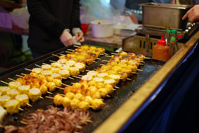 Chinatown Night Markets Sydney Food