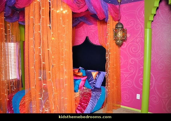 Morroccan Bohemian Theme Bedrooms