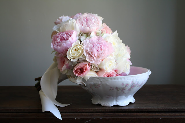 Wedding Bouquet - Pink and White - Canfield Casino - Splendid Stems