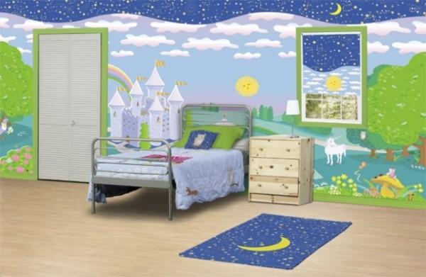 Desain kamar tidur anak laki laki dan perempuan