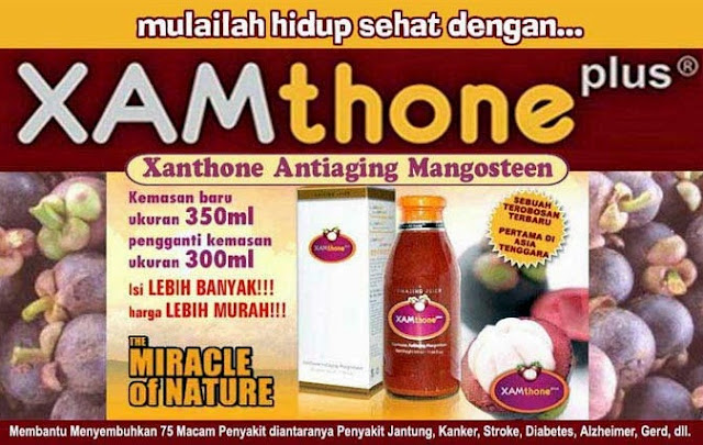 jus kulit manggis xamthone plus