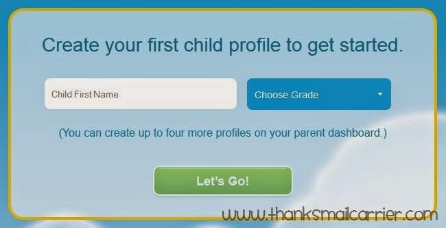 Go Math! Academy create profile