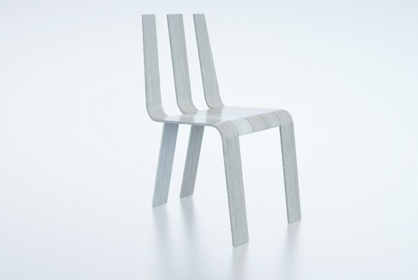 Sleek and Stylish Fork Chair