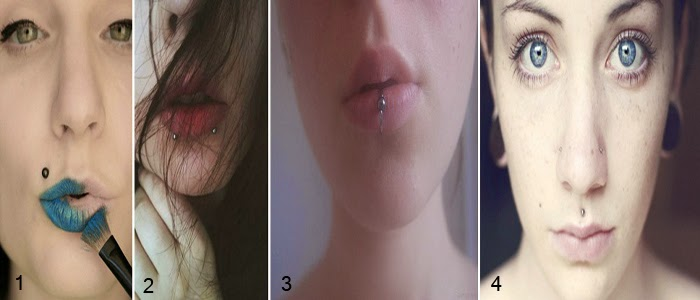 piercings labios