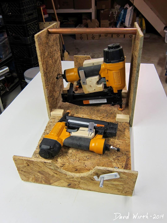 nail gun case, box, safe, transport, carry