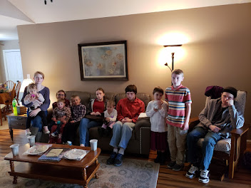 All 10 kids and 1 grandchild