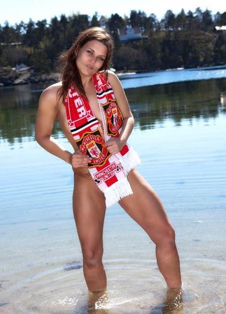 Manchester United Girl model
