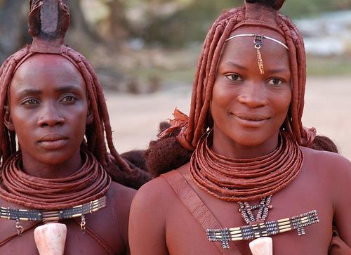 South American Tribal Girls Mwila tribe girl,angola