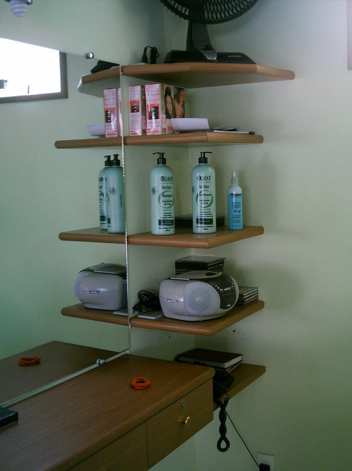 Monteiro Móveis Modulados: Móveis para salão de beleza #63482D 1197x1600