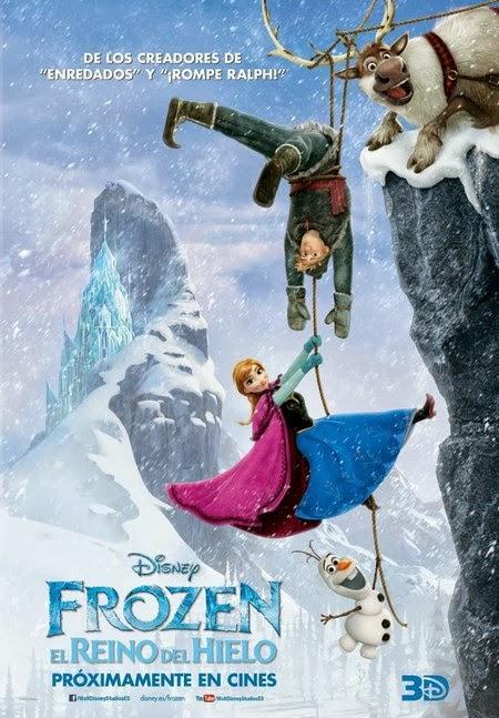 Tres nuevos posters de Frozen: Una Aventura Congelada