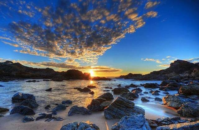 Foto Panorama Sunset yang Mengagumkan-9
