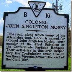 Col. John Singleton Mosby's Loot