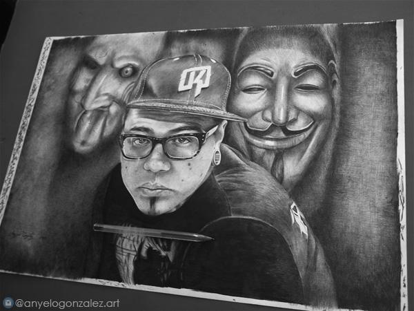 Dibujo de Yomico Moreno