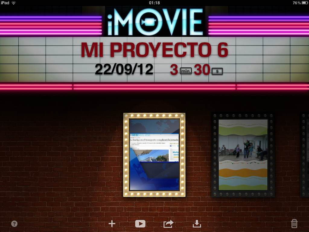 iMovie: Plan Audiovisual en mi aula - PROYECTO #GUAPPIS