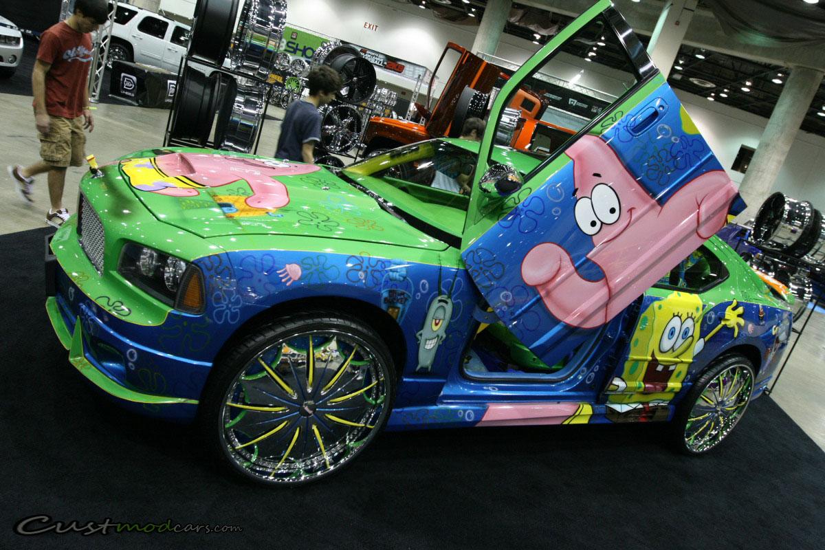 Spongebob Squarepants Dub Charger Custmod Cars