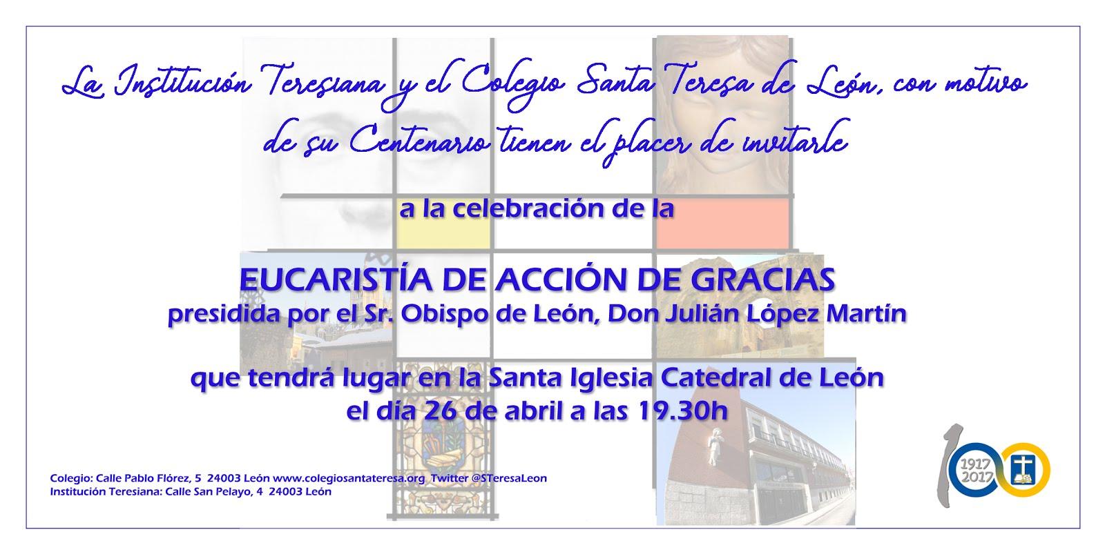 Eucaristía por el centenario en León