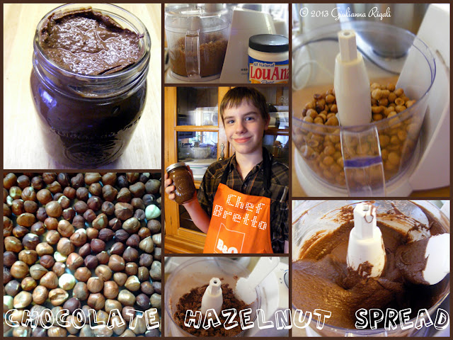 Choczelnut Butter (Better Than Nutella) Recipe in the making By Chef Bretto