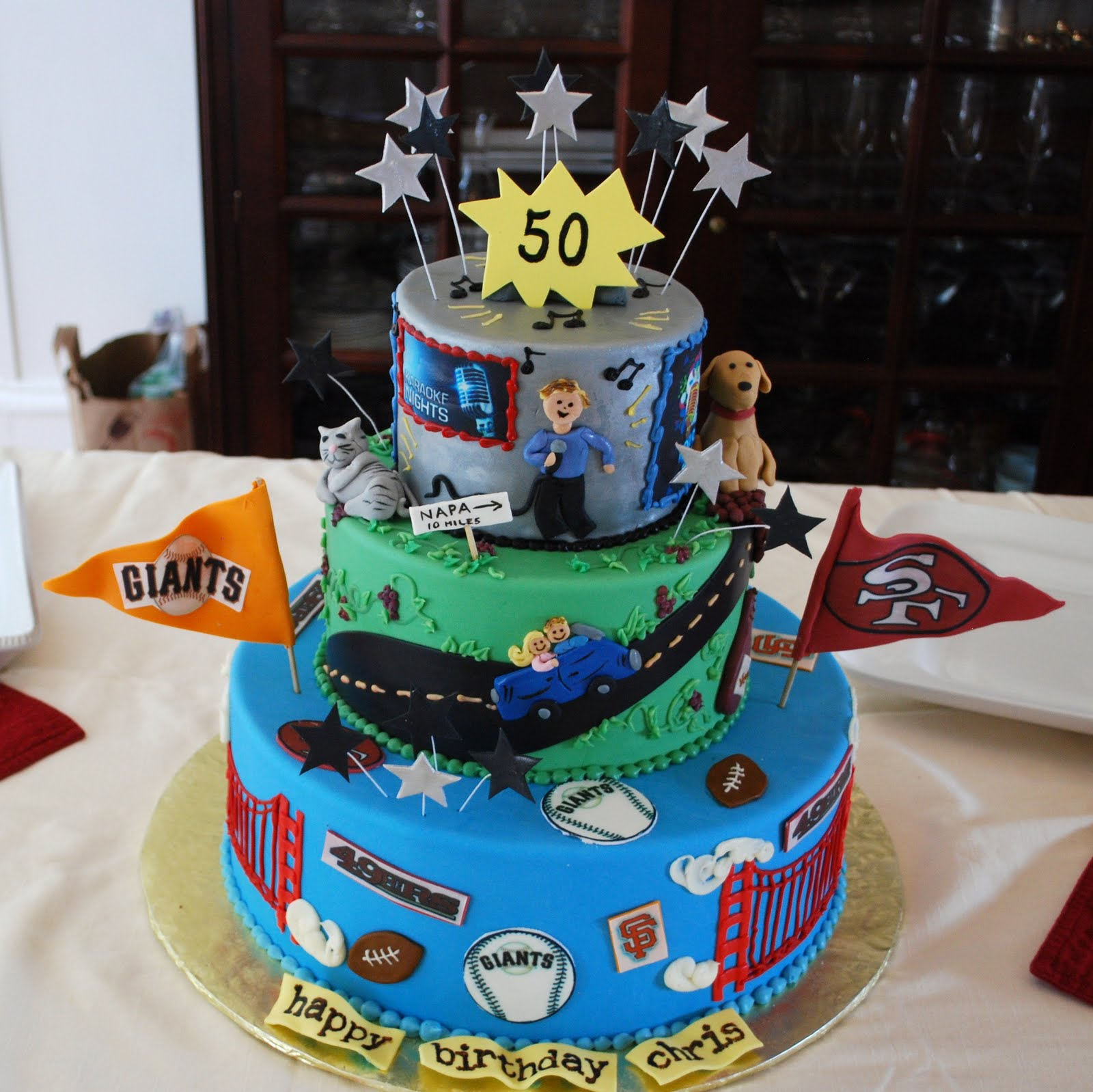 The Beehive 50th Birthday Cake