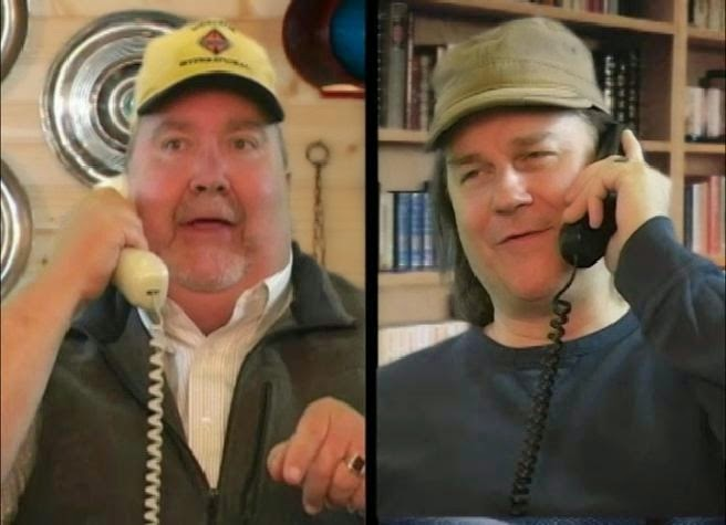 Cousin John and Garrett Dawson (or is that his name) have quite the phone conversation.