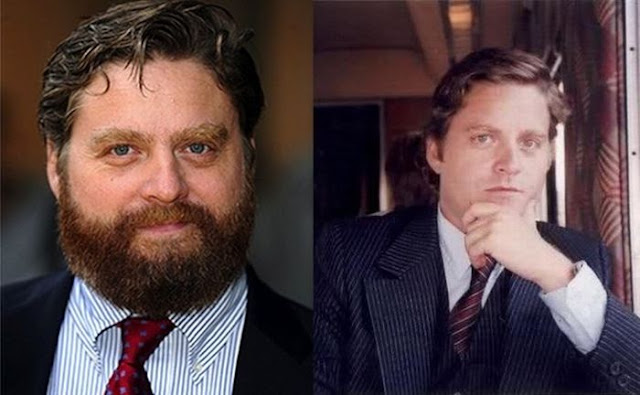 Zach Galifianakis without beard