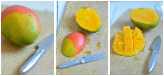 Mango schälen einfacher gemacht