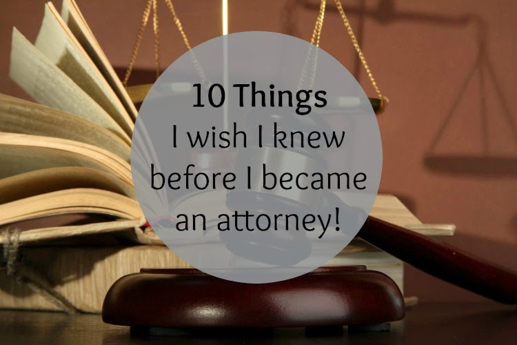 On being an attorney