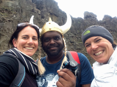 Then we met a Viking!