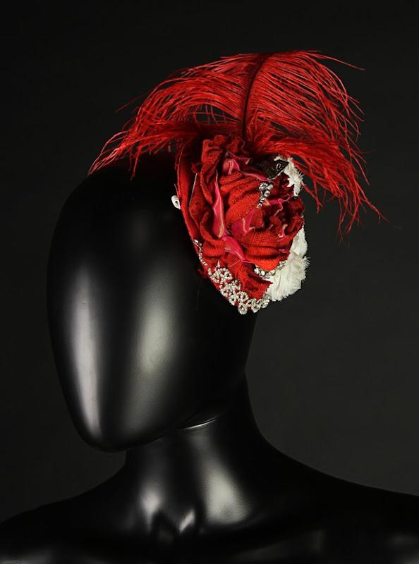 Dracula Lucy Westenra ball gown headdress