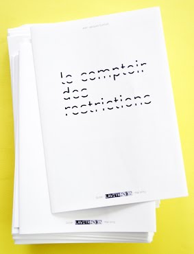 Texte - dépliant / text - flyer