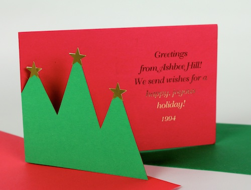 Ashbee design diy christmas cards trees as a theme ashbee design solutioingenieria Images
