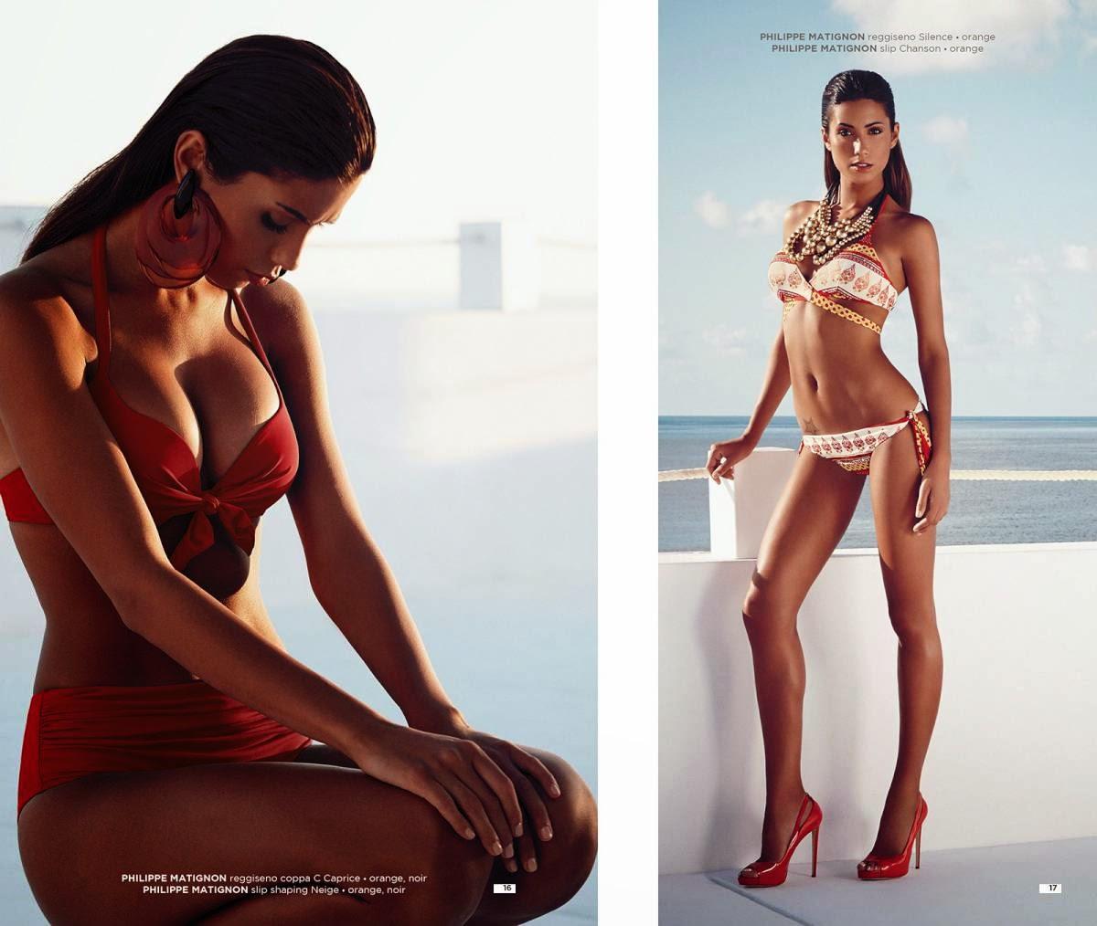 "Federica Nargi Hot and Sexy ""Goldenpoint"" Swimwear... - Indian ..."