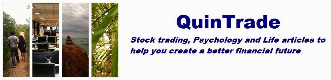QuinTrade  - The most important element in stock trading success is your psychology